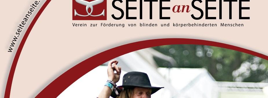 Ausschnitt des Covers des Magazins SEITEanSEITE